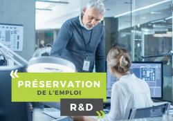Préservation de l'emploi de R&D