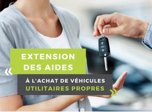 Extension des aides à l'achat de véhicules utilitaires propres