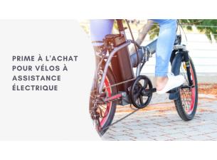 Bonus vélo : aide pour l'achat d'un vélo à assistance électrique (VAE)