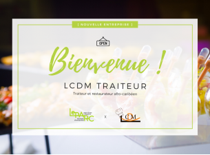 Bienvenue LCDM Traiteur